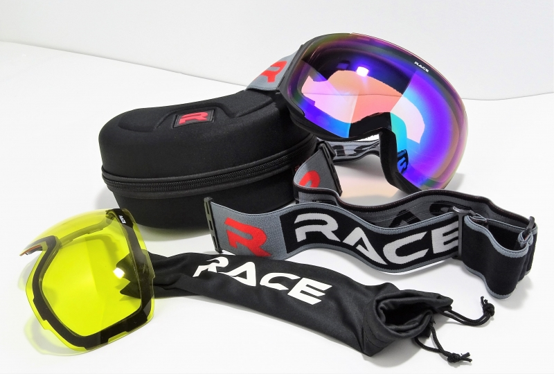 RACE GOGGLE First Track