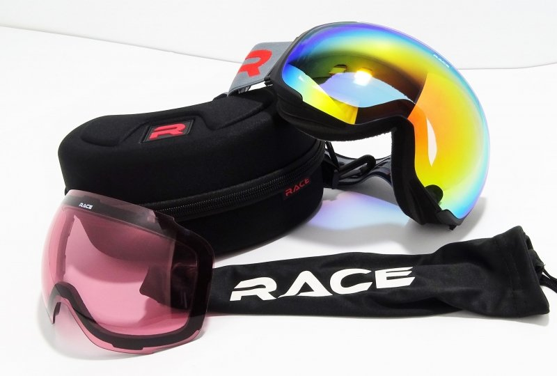 RACE GOGGLE First Track OTG